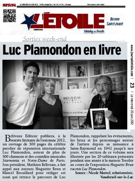 Article du 20 juin 2012