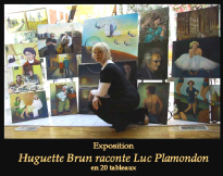 Huguette Brun et sa collection Luc Plamondon